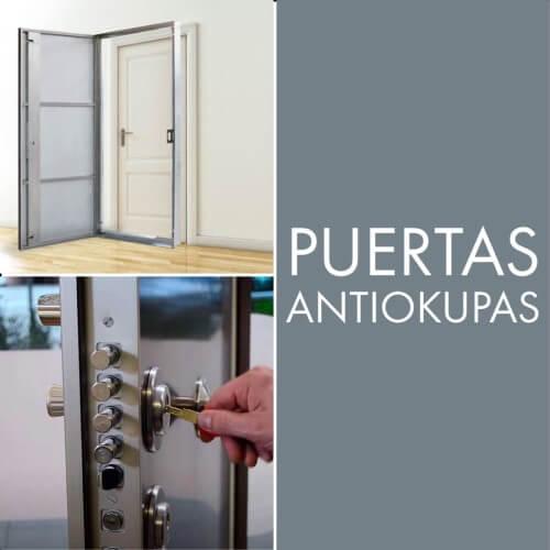 ejemplos de puertas antiokupas instaladas en valencia