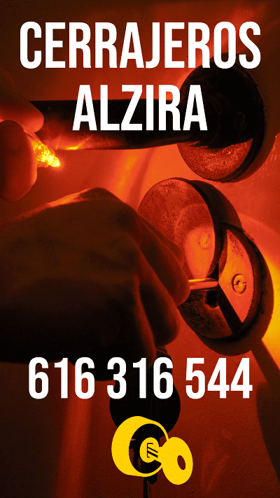 El mejor cerrajero en Alzira a una llamada de teléfono