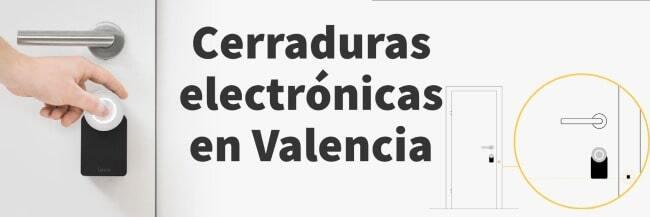 instalamos cerraduras electrónicas Valencia