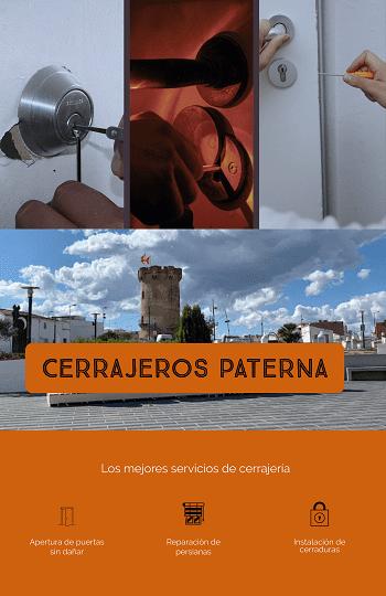 El cerrajero Paterna realiza apertura de puertas las 24 horas todos los días del año
